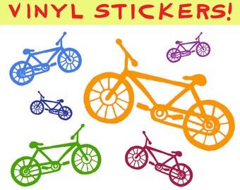Bike Vinyl Sticker