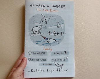 Animals in Danger - The Chilly Edition - ZINE