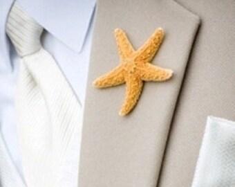Beach Wedding Tie Tack,lapel pin brooch brooch pin beach wedding,tie tack pins,men tie bar starfish mens accessories SILVER wholesale
