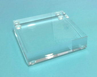 Lucite Stand - 3 Sizes - display stand, photo prop, jewelry prop