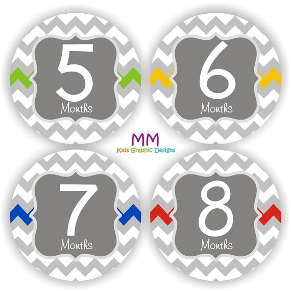 Baby Monthly Stickers Super Hero Month Stickers Monthly Bodysuit Stickers Boy Comic Monthly Milestone Stickers Baby Gift Baby Month heroes