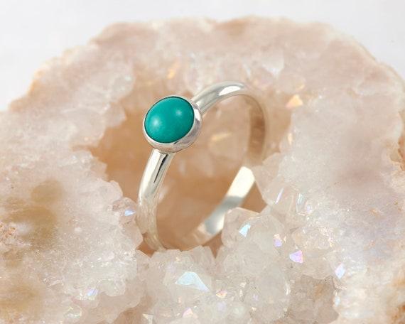 2018 fait main bijoux cadeau Multi Bleu clair ciel Topaz silver ring Taille 6-10