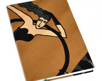 A5 Silk Bound Notebook / Mermaid Notebook / Circus Notebook / Luxury Notebook / One Of A Kind Notebook / A5 Gold Notebook / A5 Journal