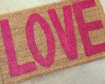 LOVE Doormat