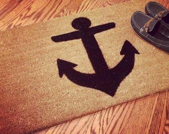 Nautical Anchor Doormat