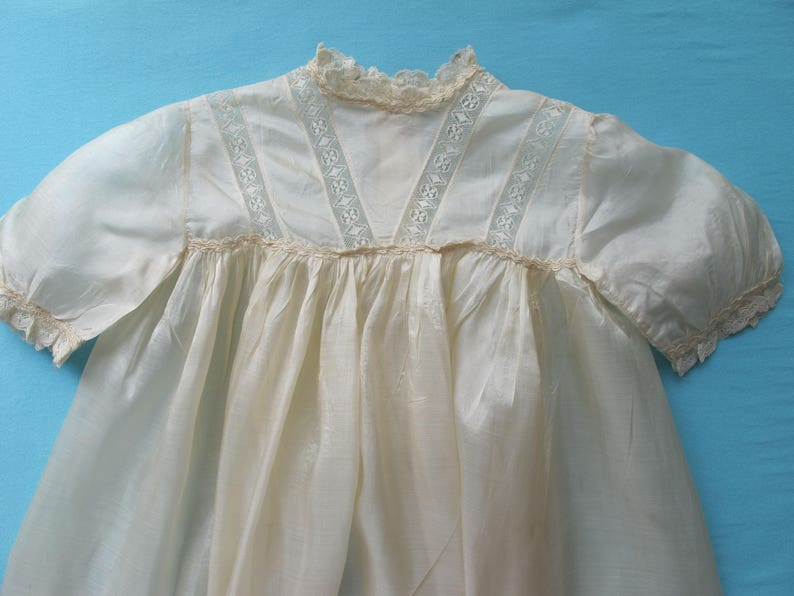 467c75915 Antique Christening Gown Baby Infants Dress Long Full Length