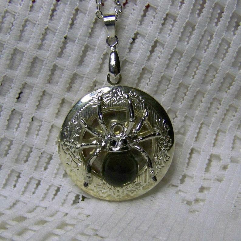 87d7d667737d Steampunk medallón medallón de araña Tarántula medallón