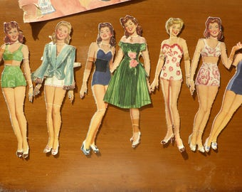Cover Girl Paper Dolls 1944