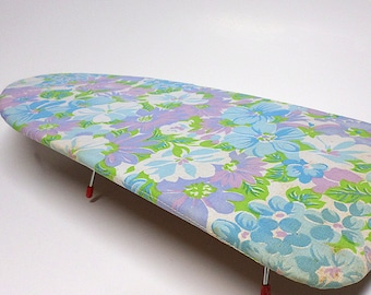 Vintage Portable Ironing Board, Travel or Home, Travel Accessory, Folds Flat,  Set Prop