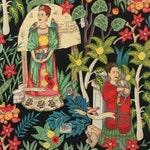 Alexander Henry - Frida's Garden in Black
