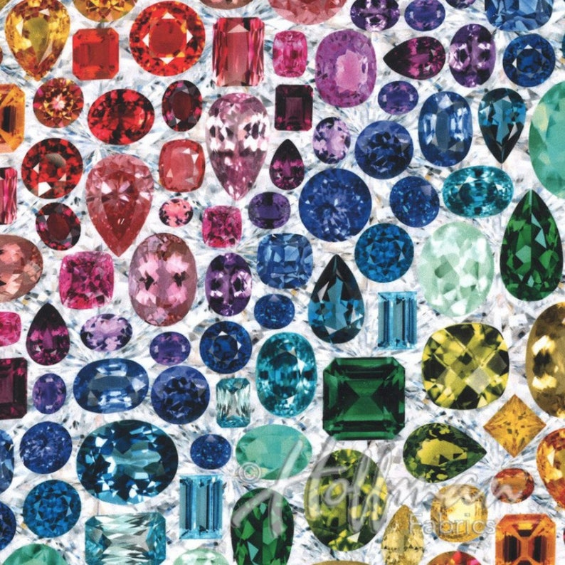 Hoffman Fabrics - Shine On in Prisma (digitale Spektrum Druck)