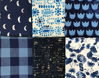 True Blue Half Yard Bundle