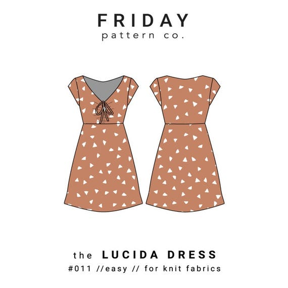 Verkauf Freitag Muster Co. Lucida Schnittmuster Papier | Etsy