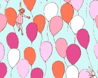 Michael Miller - Best of Sarah Jane - Balloons in Aqua