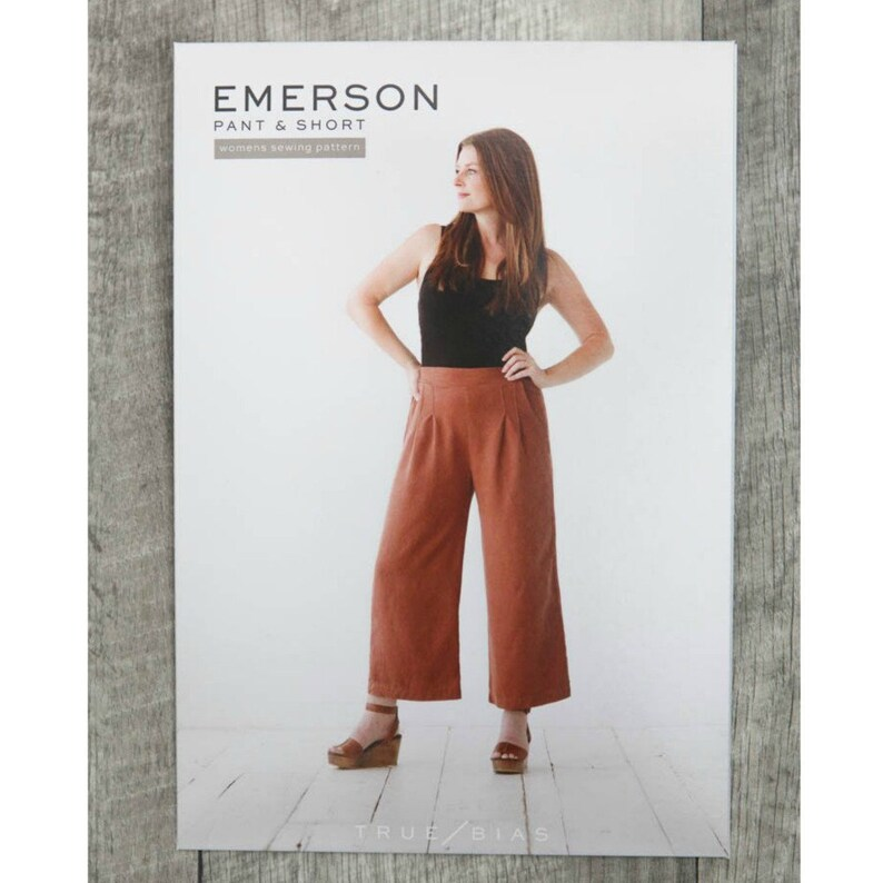 e068eef8241 True Bias Emerson Pants and Shorts Pattern paper | Etsy