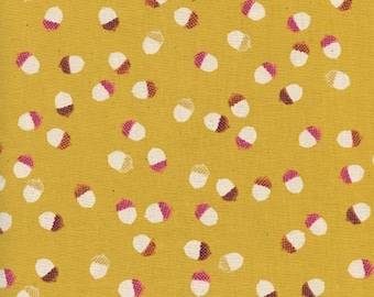 Cotton + Steel - Firelight Collection - Acorns in Yellow