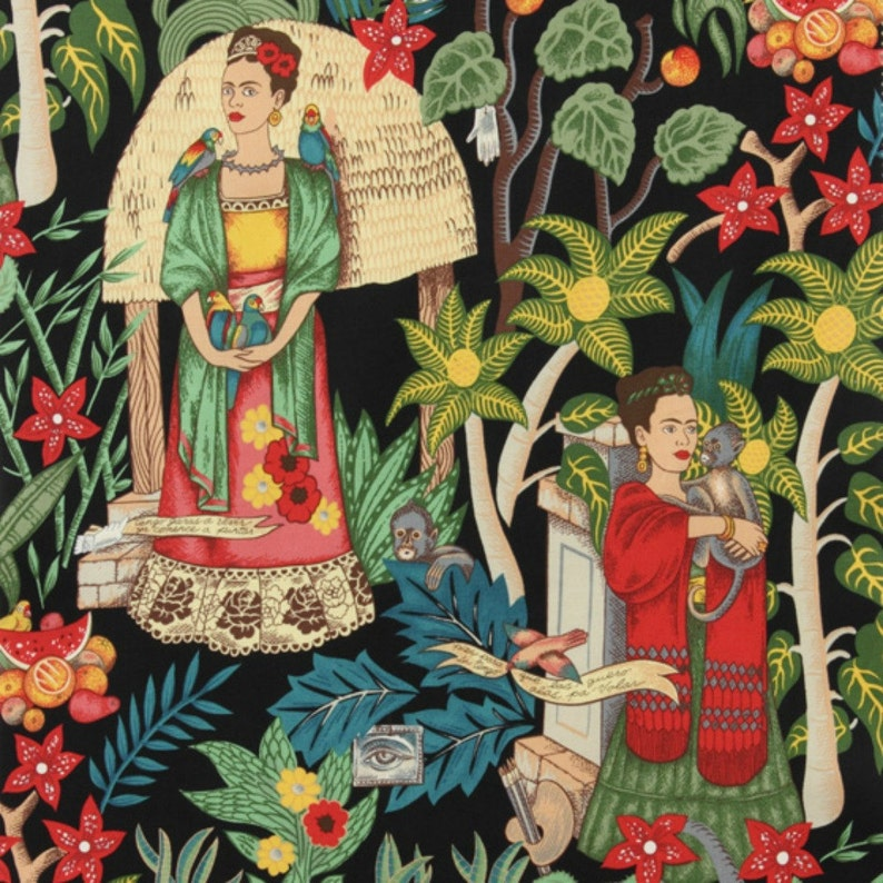 Alexander Henry  Frida's Garden in Black image 0