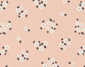 Cloud 9 Fabrics - Fanciful Collection - Pocket Full of Posies in Pink Organic - Last Fat Quarter