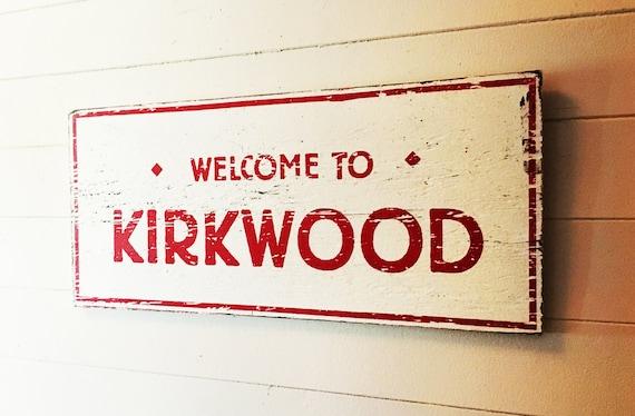 Kirkwood The Wall Sign