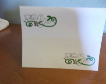 Pack of 10 Thank You Notes