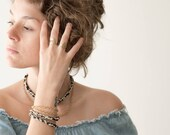 Gamma Bracelet Necklace - Braided rope