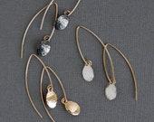 Comet Earrings - textured teardrop - as seen at Macy's