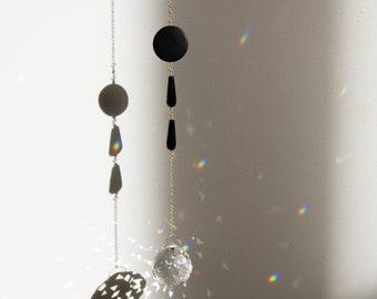 Prisma Hanging #10 - Jade and Onyx