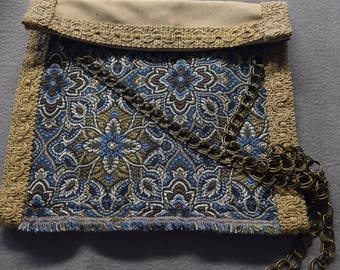 8 x 8 - Recycled FABMO Fabric Shoulder Bag