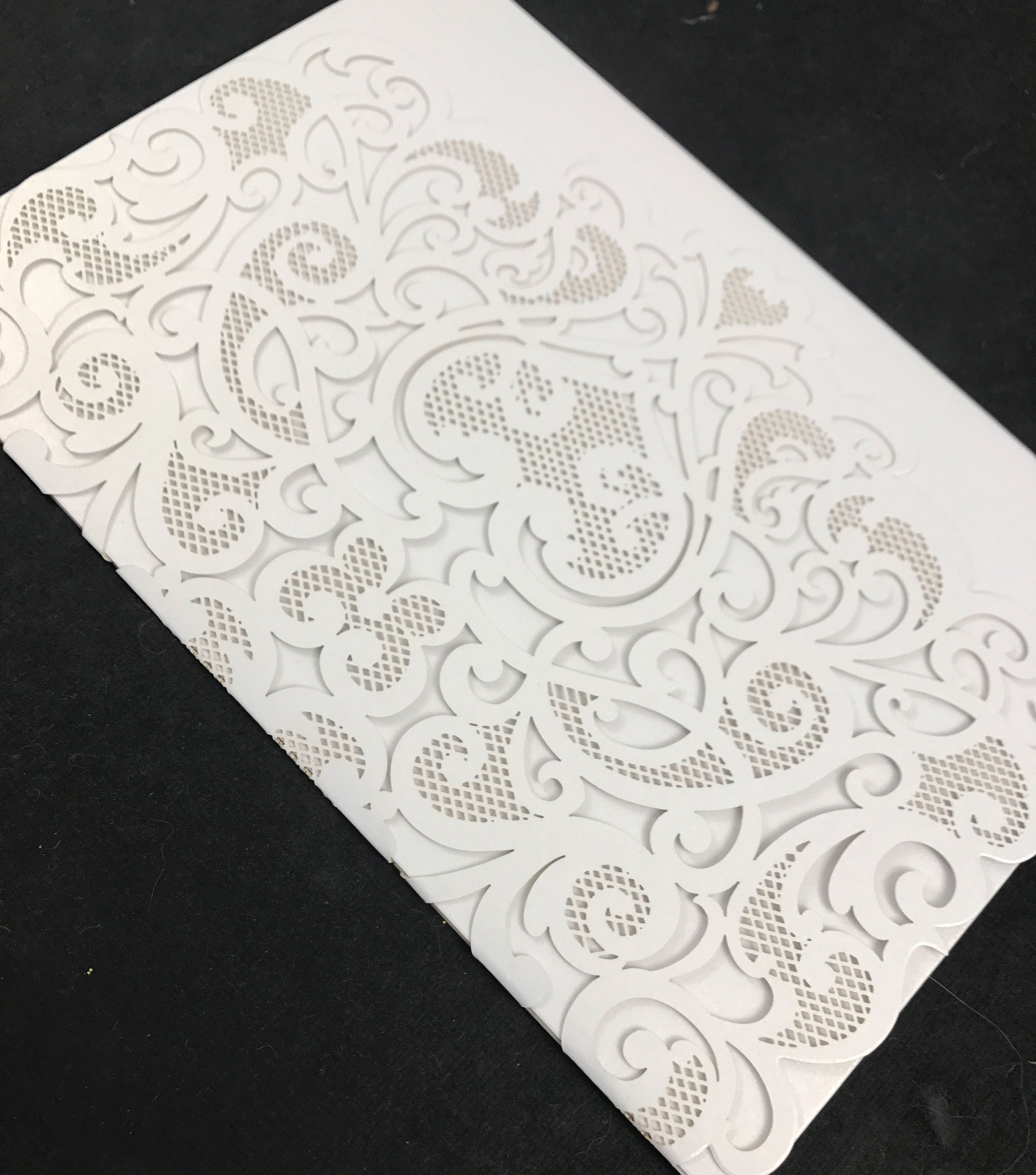 50: Diy Pocket Wedding Invitation Laser Cut At Reisefeber.org