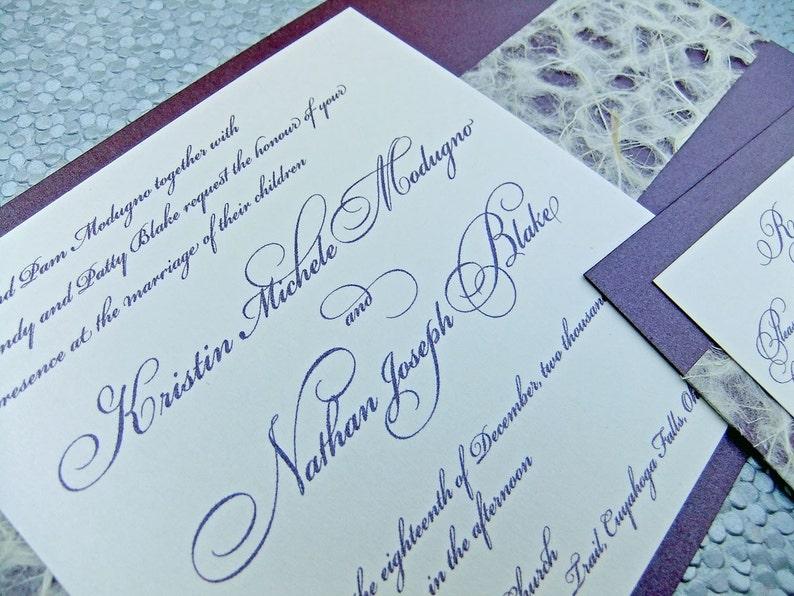 wedding invitation suite 25 invitation sets japanese  etsy