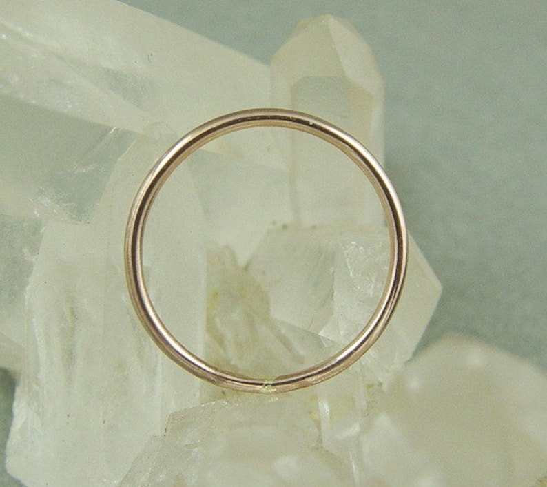 Stacking Ring  Gold Skinny Ring  Gold Filled Stacking Ring  Wedding Ring  Stacked Thumb Ring  Wedding Sale  Yellow or Rose Gold