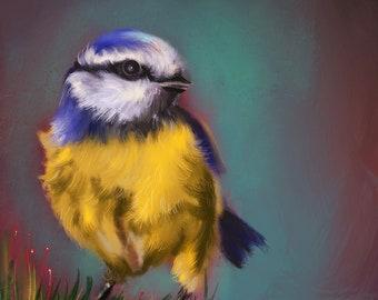Bird Wall Art / Original wall art