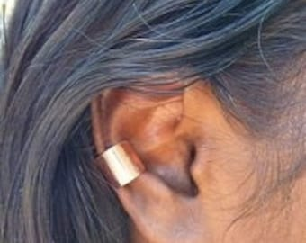 FREE Gift with purchase of 35 dollars or more Free Gift with 35 dollar purchase or more Pure Copper Plain Ear Cuff Smooth Shiny Style