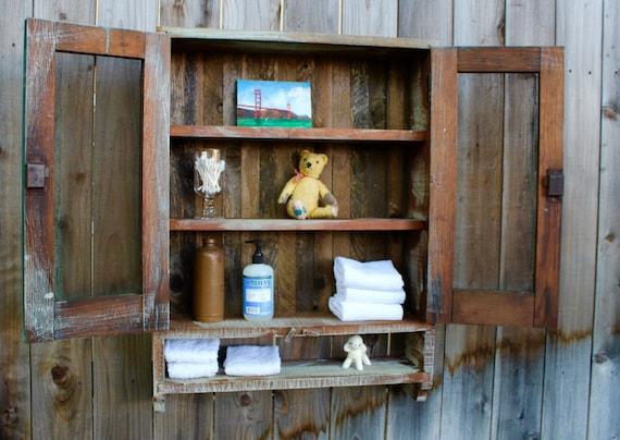 Charmant Bathroom Cabinet Rustic Medicine Cabinet Medicine Cabinets | Etsy