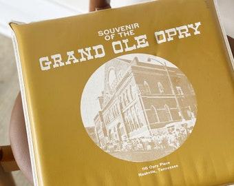 Vintage Grand Ole Opry Bleacher Cushion (1950s/60s)