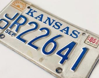 Vintage Kansas License Plate