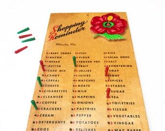 Vintage Milwaukee, WI Shopping Reminder Sign