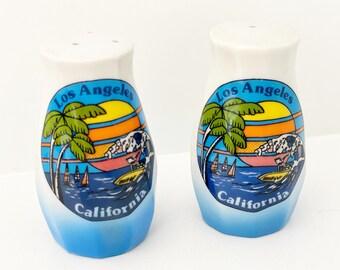 Vintage Los Angeles, California Salt & Pepper Shakers