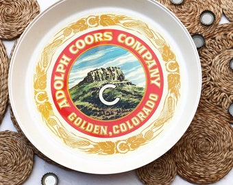 Vintage Coors Drinks Tray