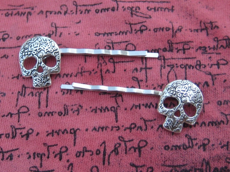 Skull Bobby Hair Pin Jewelry & Watches Bridal & Wedding Party Jewelry