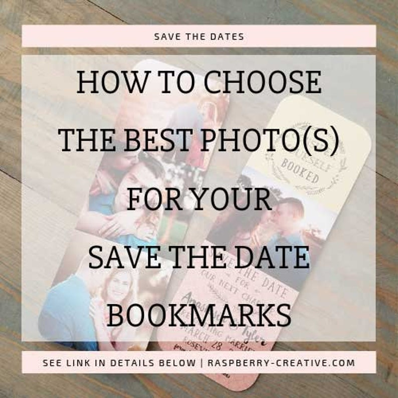 Save The Date Bookmark Bookmark Save The Date Save The Date Etsy
