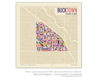 Bucktown Chicago Etsy