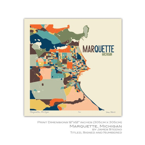 map of marquette michigan