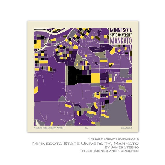 Minnesota State University Mankato Blue Earth Nicollet And Etsy
