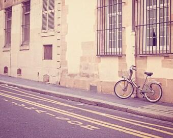 Paris Photography, Paris Print, Bike Art, Bicycle print, Paris Decor, Bicycle Photo, Bike Print, Travel Photo, Paris Wall Art Print