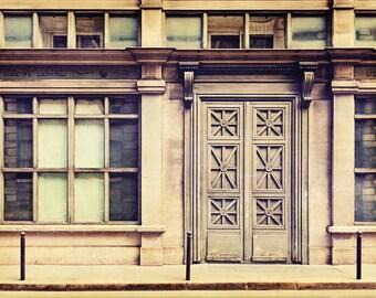 Paris Photography, Rue Vivienne Architectural Photography Print, Paris France Fine Art, Travel Photo Wall Art Print