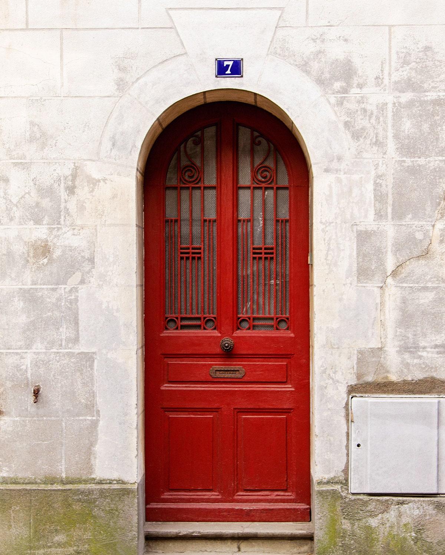 Door Photography Red Door Photograph Paris Decor Paris Etsy