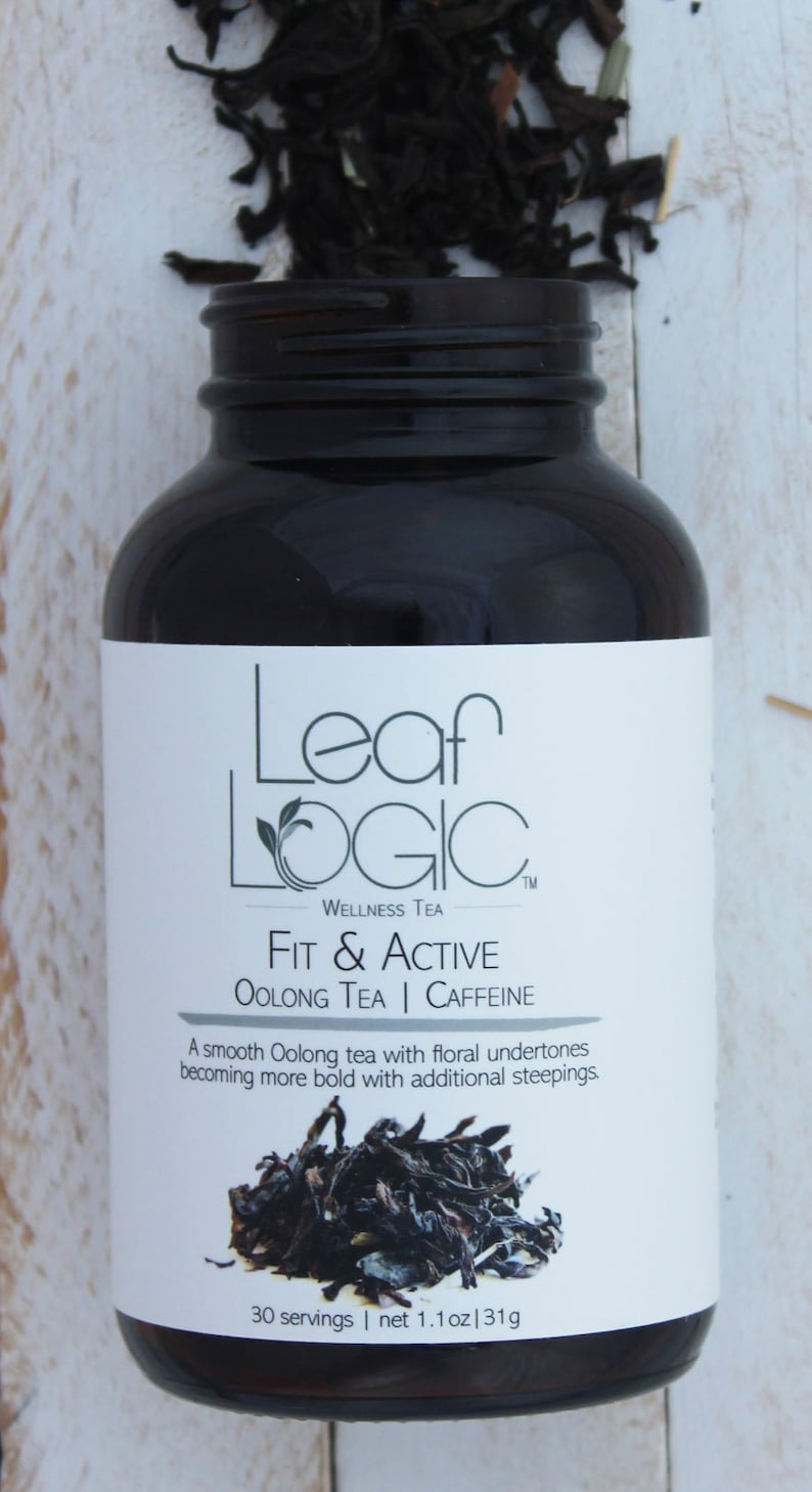 0f2f638cd2981 Fit and Active Artisan Organic Loose Leaf Tea by Leaf Logic Wellness Tea in  Eco-Friendly Packaging