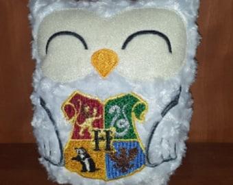 White owl stuffie stuffed animal plushie