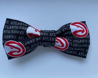 Hawks dog bow tie